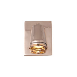 0749 Mast Light, mains voltage + LED lamp, Polished Bronze | Wall lights | Original BTC