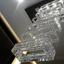 """Bespoke Chandelier """"Montblanc"""" 