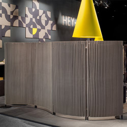 Wave room divider | Space dividers | HEY-SIGN
