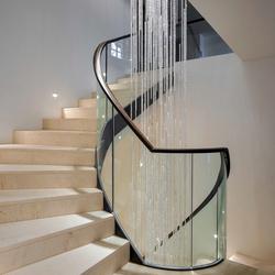 "Bespoke Chandelier ""Crystal Rain"" | Lampadari | Windfall"