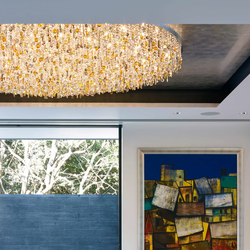 "Bespoke Chandelier ""Mandala House"" 