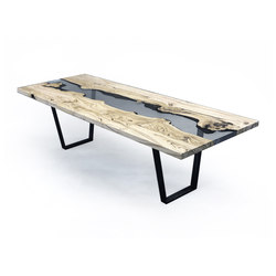 Undergrowth | Creek Table Chestnut | Dining tables | Alcarol