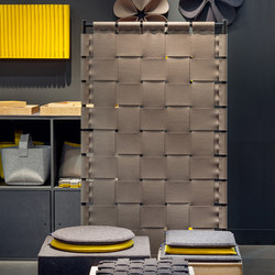 Room divider woven | Folding screens | HEY-SIGN