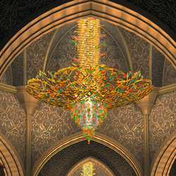 "Bespoke Chandelier ""Sheikh Zayed Grand Mosque"" 