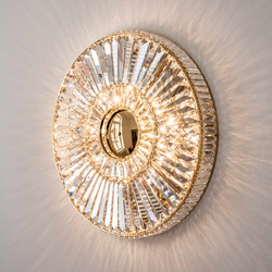 "Bespoke Chandelier ""Sun Corona"" 