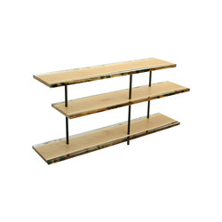 Undergrowth | Woodpile Shelving | Regale | Alcarol