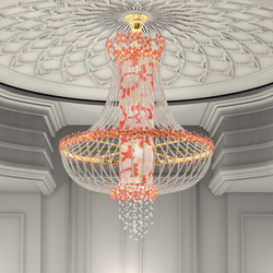"Bespoke Chandelier ""Sanssouci"" 