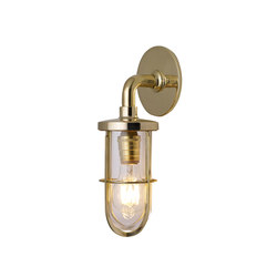 7207 Weatherproof Ship's Well Glass, Polished Brass, Clear Glass | Wall lights | Original BTC