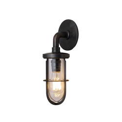 7207 Weatherproof Ship's Well Glass, Weathered Brass, Clear Glass | Wall lights | Original BTC