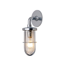 7207 Weatherproof Ship's Well Glass, Chrome, Clear Glass | General lighting | Original BTC