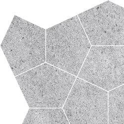 Grecale Acciaio Mosaico | Ceramic tiles | Refin