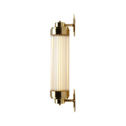 7216 Pillar Offset Wall Light,LED, Polished Brass | Wall lights | Original BTC