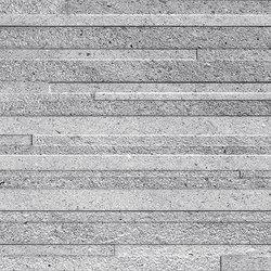 Grecale Acciaio Muretto 3D | Ceramic tiles | Refin