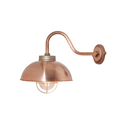 7222 Shipyard Wall, Copper, Clear Glass | Wall lights | Original BTC