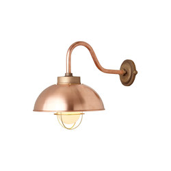 7222 Shipyard Wall, Copper, Frosted Glass | Wall lights | Original BTC