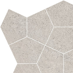 Grecale Fango Mosaico | Baldosas de cerámica | Refin