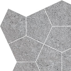 Grecale Grafite Mosaico | Carrelage céramique | Refin