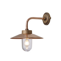7680 Exterior Bracket Light, Right Angle, Round, Gunmetal, Clear | Lampade parete | Original BTC