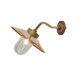 7680 Exterior Bracket Light, Canted, Round, Gunmetal, Clear | Wall lights | Original BTC