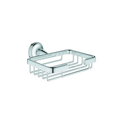 Essentials Authentic Corner Basket, small | Shower baskets | GROHE