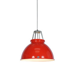 Titan Size 3 Pendant Light, Red/White Interior | Suspended lights | Original BTC