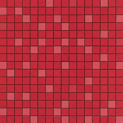Arkshade red mosaico Q | Ceramic mosaics | Atlas Concorde