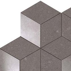 Kone grey esagono mosaico | Mosaïques céramique | Atlas Concorde