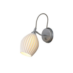 Fin Wall Light, Grey Braided Cable | Appliques murales | Original BTC