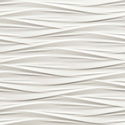 3D Wall White Wind | Ceramic tiles | Atlas Concorde