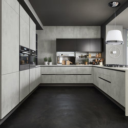 Oyster Decorativo | Fitted kitchens | Veneta Cucine