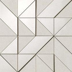Arkshade white mosaico Art 3D | Ceramic mosaics | Atlas Concorde