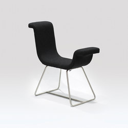 A-Normal | Chair Stainless Steel | Loungesessel | Liqui Contracts