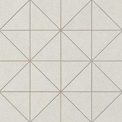 Arkshade white prisma mosaico | Ceramic mosaics | Atlas Concorde
