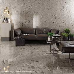 Kone grey | Floor tiles | Atlas Concorde