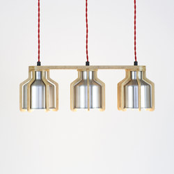 Cell | Triplet Pendant | Suspended lights | Liqui Contracts