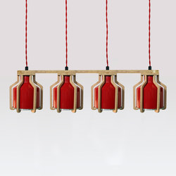 Cell | Quadruplet Pendant | Suspended lights | Liqui Contracts