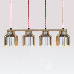 Cell | Quadruplet Pendant | Lámparas de suspensión | Liqui Contracts