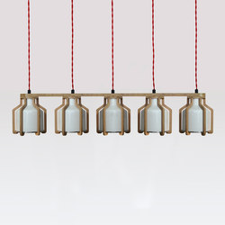 Cell | Quintuplet | Suspended lights | Liqui Contracts