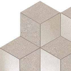 Kone silver esagono mosaico | Mosaicos de cerámica | Atlas Concorde