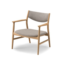 KAMUY Lounge Chair upholstered back | Poltrone | Conde House