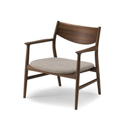 KAMUY Lounge Chair wood back | Poltrone | Conde House