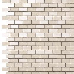 Kone white brick mosaico | Mosaicos de cerámica | Atlas Concorde