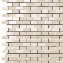 Kone white brick mosaico | Mosaïques céramique | Atlas Concorde