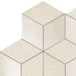 Kone white esagono mosaico | Mosaicos de cerámica | Atlas Concorde