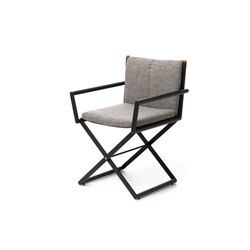 Domino | Director Chair | Garden chairs | Talenti