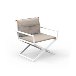 Domino | Director Lounge Chair | Sièges de jardin | Talenti
