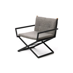 Domino | Director Lounge Chair | Sedie | Talenti