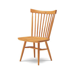 RIKI WINDSOR Armless Chair | Sedie | Conde House