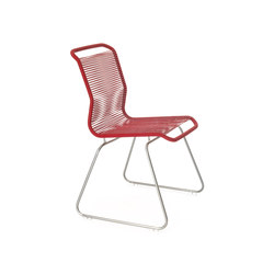 Panton One Chair | red | Sillas para restaurantes | Montana Furniture