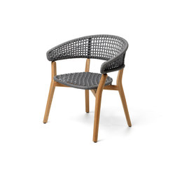 Moon Teak | Padded Tub Chair | Sillas | Talenti